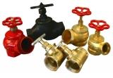 Пожарные гидранты и вентили