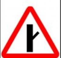 """Дорожный знак 2.3.4 """"Пересечение с второстепенной дорогой"""", под заказ 5 дней"""