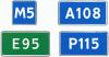 "Дорожный знак 6.14.1, 6.14.2 ""Номер маршрута"" под заказ 5 дней"