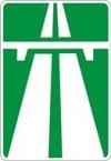 """Дорожный знак 5.1 """"Автомагистраль"""""""