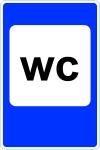 "Дорожный знак 7.18 ""Туалет"" под заказ 5 дней"