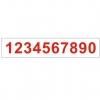 B33 Цифры от 1 - 0