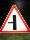 """Дорожный знак 2.3.3 """"Пересечение с второстепенной дорогой"""", под заказ 5 дней"""