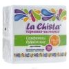 """Салфетки бумажные """"La Chista"""", однослойные, 100 шт, в наличии."""