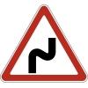 """Дорожный знак 1.12.1 """"Опасные повороты"""", под заказ 5 дней"""