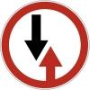 """Дорожный знак 2.6 """"Преимущество встречного движения"""", под заказ 5 дней"""