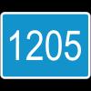 """Дорожный знак 6.13 """"Километровый знак"""" под заказ 5 дней"""