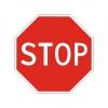 """Дорожный знак 2.5 """"Движение без остановки запрещено"""", под заказ 5 дней"""